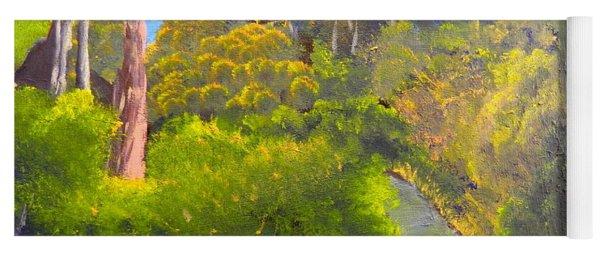 Creek In The Bush Yoga Mat