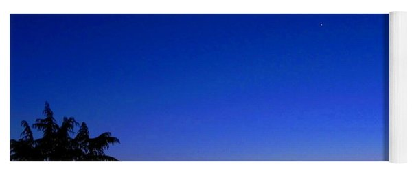 Crescent Moon San Francisco Bay Yoga Mat