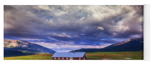 Crested Butte Morning Storm Yoga Mat