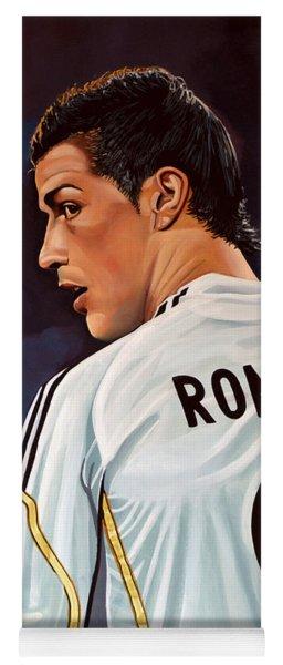 Cristiano Ronaldo Yoga Mat