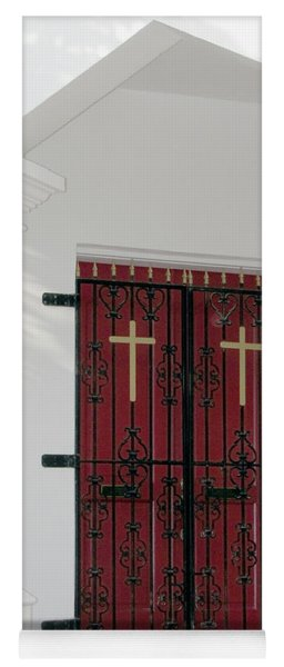 Key West Church Doors Yoga Mat