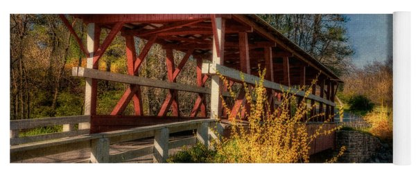 Crossing Shawnee Creek Yoga Mat
