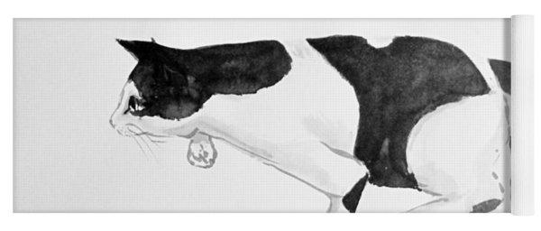 Crouching Cat Yoga Mat