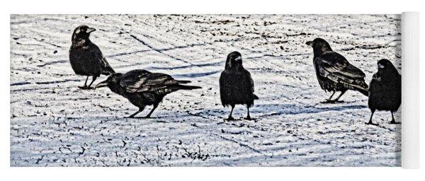 Crow Talk Yoga Mat