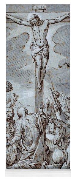 Crucifixion Yoga Mat