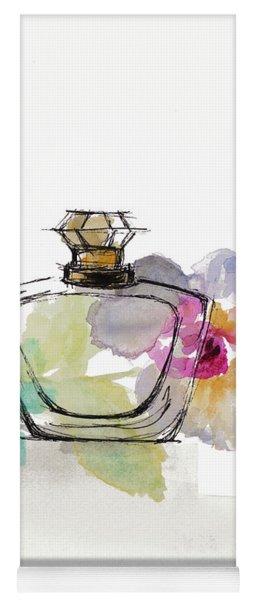 Crystal Watercolor Perfume I Yoga Mat