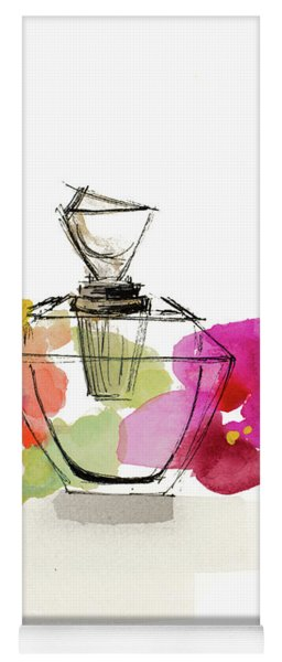 Crystal Watercolor Perfume II Yoga Mat