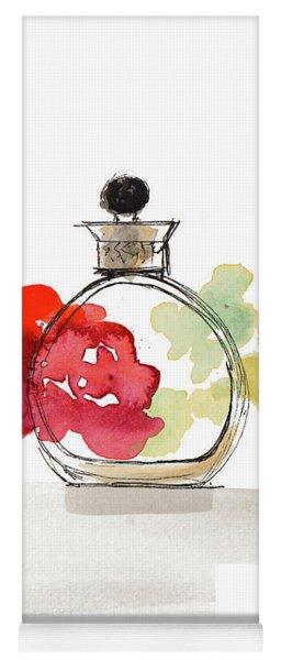 Crystal Watercolor Perfume IIi Yoga Mat
