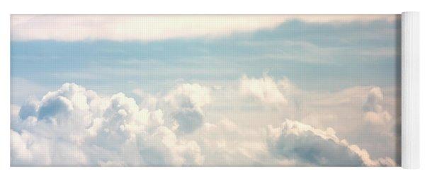 Cumulus Clouds Yoga Mat