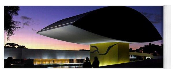 Curitiba - Museu Oscar Niemeyer Yoga Mat
