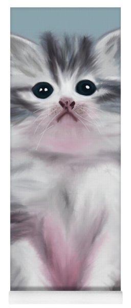 Cute Kitten Yoga Mat