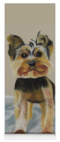 Cute Yorkie Yoga Mat