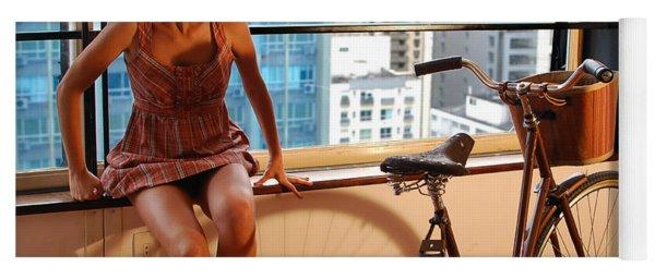 Cycle Introspection Yoga Mat