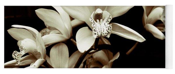 Cymbidium Orchids Yoga Mat