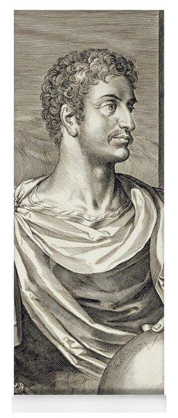 D. Octavius Augustus Emperor Of Rome 27 Yoga Mat