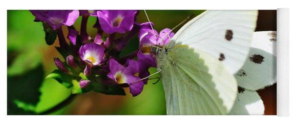 Dainty Butterfly Yoga Mat