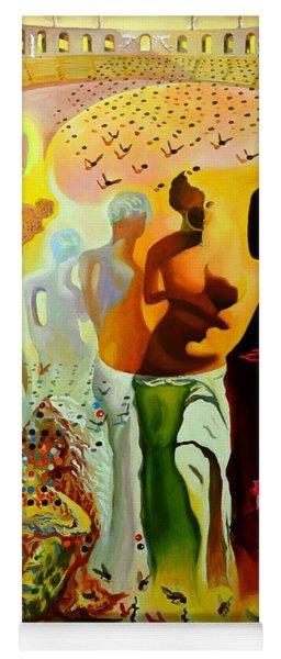 Dali Oil Painting Reproduction - The Hallucinogenic Toreador Yoga Mat