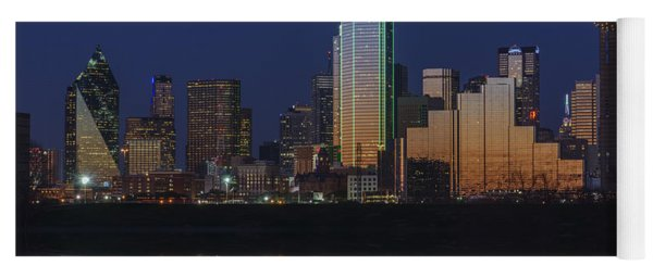 Dallas Aglow Yoga Mat