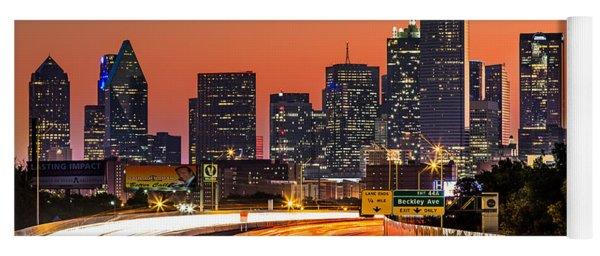 Dallas Sunrise Yoga Mat