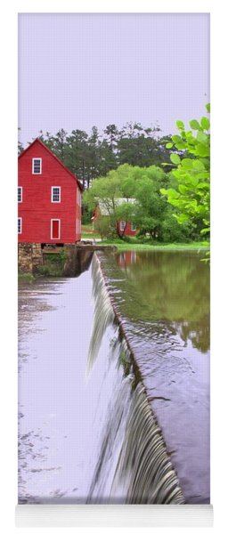 Dam At Starrs Mill Yoga Mat