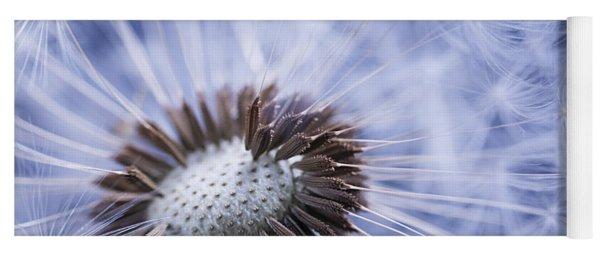 Dandelion With Seeds Yoga Mat