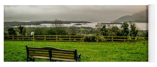 Dark Clouds Over Killarney Lakes Yoga Mat