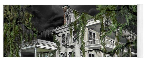 Dark Plantation House Yoga Mat