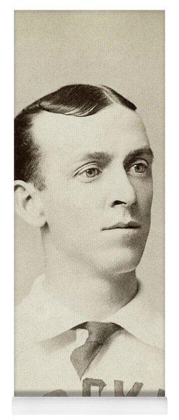 Dave Foutz (1856-1897) Yoga Mat