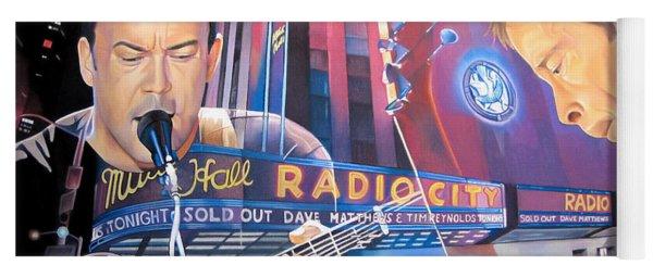 Dave Matthews And Tim Reynolds At Radio City Yoga Mat