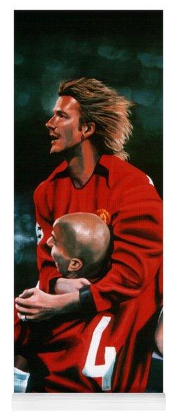 David Beckham And Juan Sebastian Veron Yoga Mat