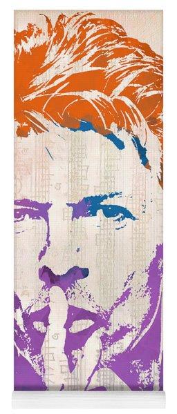 David Bowie Yoga Mat