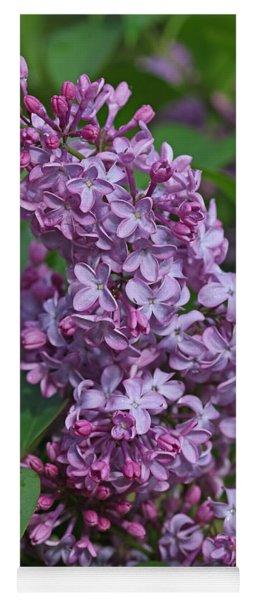Dawns Lilacs Yoga Mat