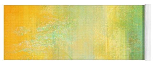 Day Bliss - Abstract Art Yoga Mat