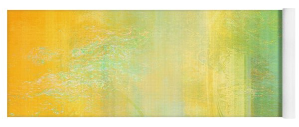 Day Bliss - Abstract Art Yoga Mat