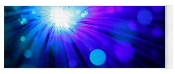 Dazzling Blue Yoga Mat