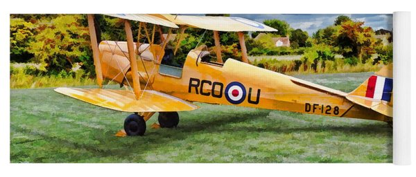 De Havilland Dh82 Tiger Moth Yoga Mat