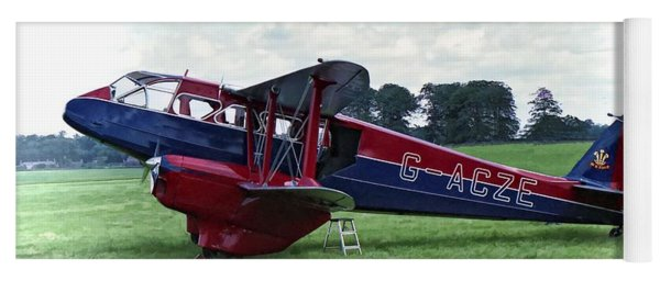 De Havilland Dragon Rapide Yoga Mat