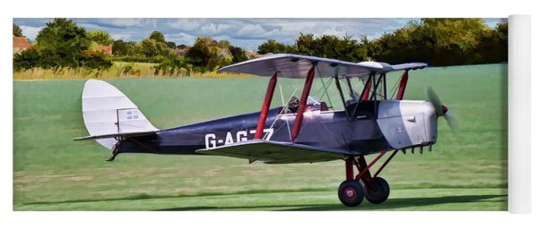 De Havilland Tiger Moth Yoga Mat