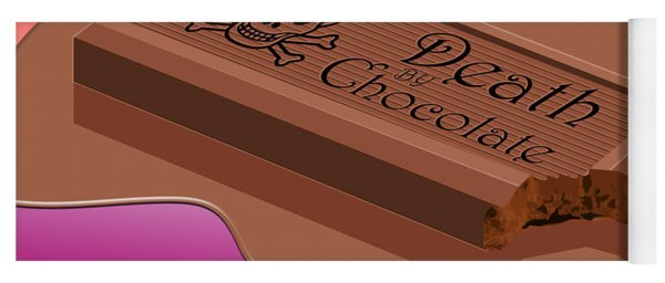 Death By Chocolate Yoga Mat