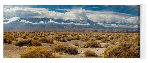 Death Valley Landscape, Panamint Range Yoga Mat
