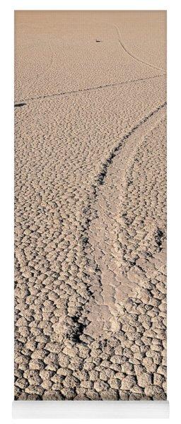 Death Valley Racetrack California Yoga Mat