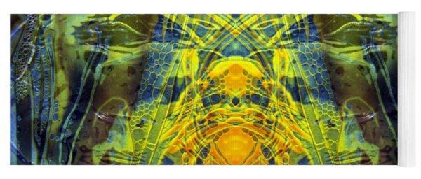 Decalcomaniac Intersection 1 Yoga Mat