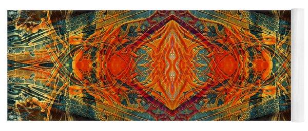Decalcomaniac Intersection 2 Yoga Mat