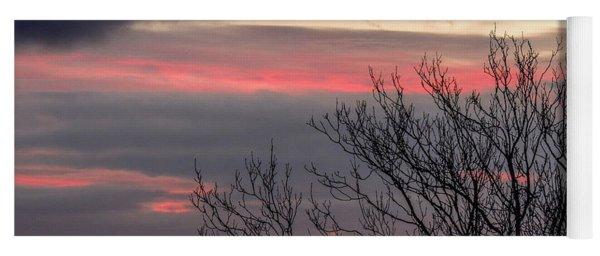 December County Clare Sunrise Yoga Mat