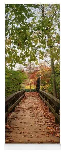 Decorate With Leaves - Holmdel Park Yoga Mat