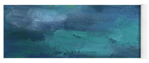 Tranquility- Abstract Painting Yoga Mat