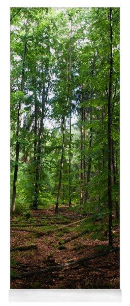 Deep Forest Trails Yoga Mat