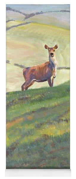 Deer Yoga Mat