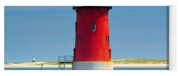 Delaware Breakwater Lighthouse Yoga Mat
