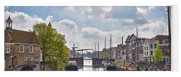 Delfshaven Rotterdam Yoga Mat